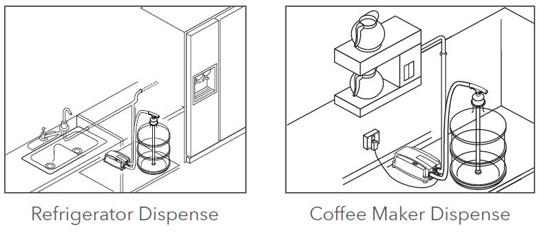coffee maker pump application