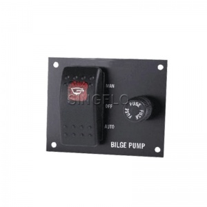 3 way panel bilge pump switch