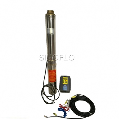 Brushless motor solar pump