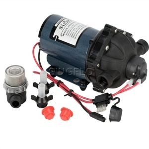 high capacity deck boat pump