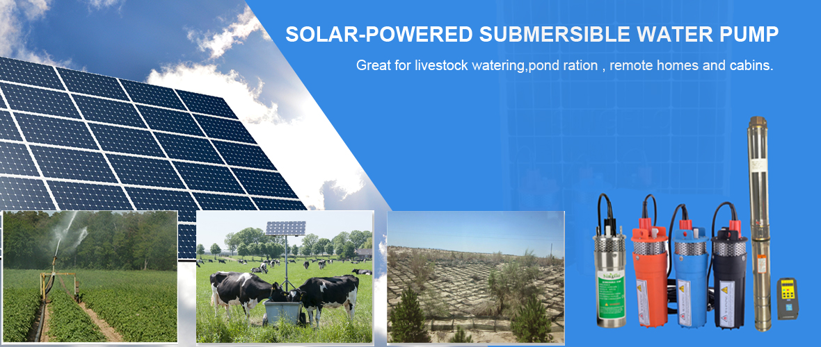 Best solar powered submersible water pump